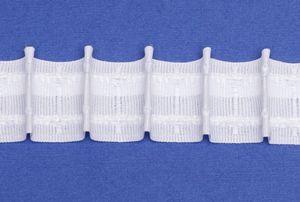 rewagi   10 Meter  Stegband,  Gardinenband, Vorhänge, Zubehör - 1:2.0 mit Querfäden  L112