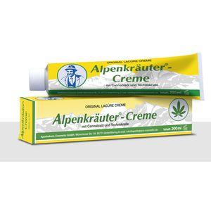 Alpenkräuter Creme 200ml - mit Cannabisöl und Teuf