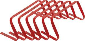 Precision hürden biegsam 22,8 x 48 cm PVC rot 6 Stück