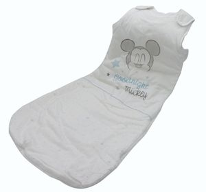 Herding Disney's Mickey Mouse Baby-Schlafsack, Baumwolle, weiß, 110 cm, 2,5 TOG