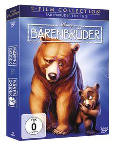 Bärenbrüder 1+2, Doppelpack DVD