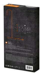 LEDVANCE VINTAGE 1906 PIPE FLOOR Stehleuchte  180 cm Stahl Schwarz