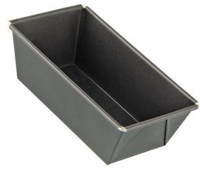 Zenker Königskuchenform 20 cm SPECIAL - MINI, kleine Backform aus Stahlblech, Kastenform mit Antihaftbeschichtung (Farbe: Schwarz), Menge: 1 Stück
