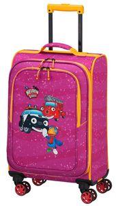 Travelite Helden der Stadt Kindertrolley Kinderkoffer Kindergepäck 81688, Farbe:Pink