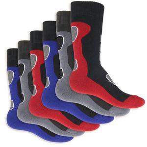 6 Paar Herren Thermo Socken Vollfrottee-47-50