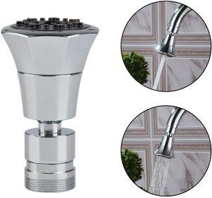 2-Funktionshandbrause 2-flow Wasserhahn Luftsprudler Mit Strahlregler - Wasserhahn-Aufsatz Schwenkbrause mit 360°Schwenkkopf Brausekopf Perlator Wassersparstrahler
