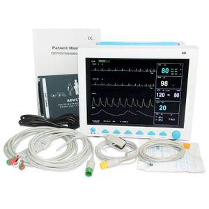 Vitalzeichen Patientenmonitor Multiparameter ICU CCU Maschinenfarbe LCD CMS8000 CE bewährt