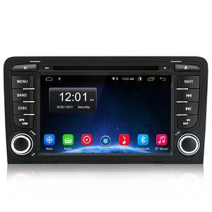 7 Zoll 2DIN Android Autoradio Für Audi A3 Navigaition DVD GPS DAB Navi doppel Seite 2+32GB