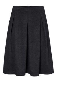 Ashley Brooke Damen Designer-Jerseyrock, dunkelblau-meliert, Größe:42