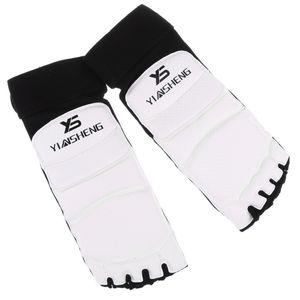 Taekwondo Training Boxen Fußschutz Ausrüstung, Kampfkunst Kampf Muay Thai Füße Sparring Schuhe / Footgear Größe S