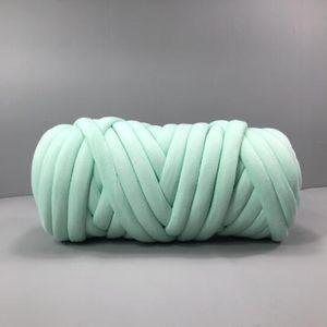 1 Stück Chunky Yarn Farbe Hellgrün