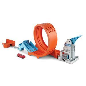 Hot Wheel Champion Trackset Looping-Bahn, inkl. Spielzeugauto