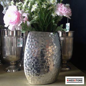 Dekoration Deko  Aluminium Designer Vase