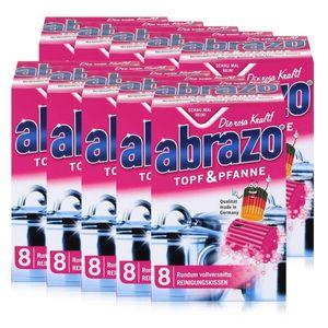 abrazo Topf & Pfanne Reinigungskissen - Die rosa Kraft (10er Pack)
