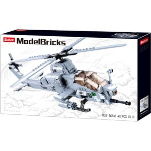 Sluban M38-B0838 - Attack Helicopter