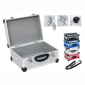 Werkzeugkoffer + Tragegurt - silber - Silber