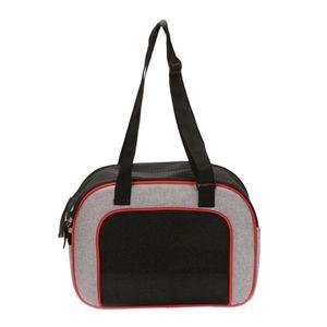 1x Haustier Hund Katze Outdoor Rucksack Tragetasche für kleine Haustier Farbe rot
