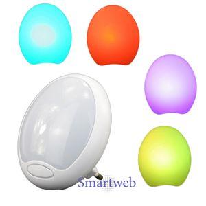 LED Nachtlampe für Steckdose mit Farbwechsel, Nachtlicht, Treppenlicht, Lampe