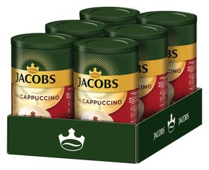 JACOBS Typ Cappuccino 6 x 400 g Dosen feine Cremigkeit - viel Schaum