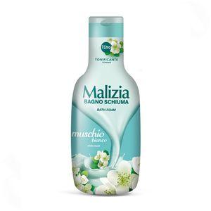 MALIZIA muschio bianco / WEIßER MOSCHUS - Badeschaum 1000ml