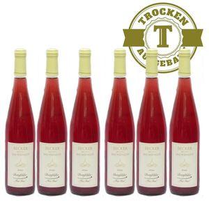 Rosé Rheinhessen Dornfelder Weißherbst Weingut Becker trocken (6 x 0,75l)