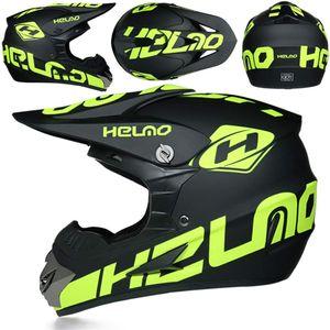 Motors Motorradhelm Kinder Cross Helme Sturzhelm Schutzhelm Helm für Motorrad Kinderquad und Crossbike(S)