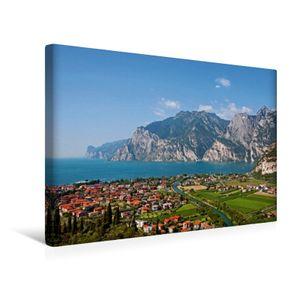Calvendo  Textil-Leinwand 45 cm x 30 cm quer Ein Motiv aus dem Kalender Gardasee - lago di Garda by Sascha Ferrari, Ferrari Sascha; 7278765