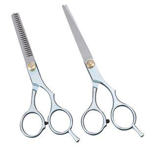 2 stücke Salon Professionelle Friseur Haar Schneiden Effilierschere Schere Friseur Set