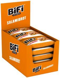BiFi Original Salamibrot 16 x 55g BiFi Salami trifft würziges Sauerteigbrot NEU!