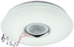 Globo Lighting NICOLE Deckenleuchte Kunststoff weiß, 1xLED, 41329-18