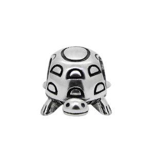 PANDACHARMS Schildkröte Charm 925 Silber passt zu Pandora Moments