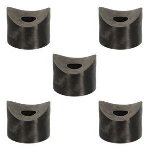 5x distanzhülsen höhe 5 mm kunststoff M8 schraube rund rohr unterlegscheiben