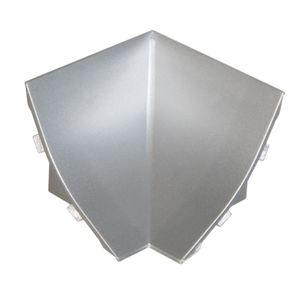 HOLZBRINK Innenecke passend zum Nachbildung Ihrer Abschlussleisten Aluminium Innenkante PVC Küchenabschlussleiste 23x23 mm