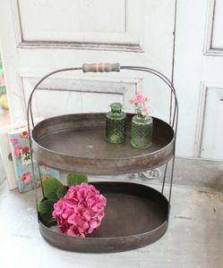 Wunderschöne Etagere LIA im Landhaus Shabby Chic Antique Stil