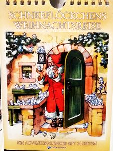 """Bilder Adventskalender """" Schneeflöckchens Weihnachtsreise """" Gr. A5"""