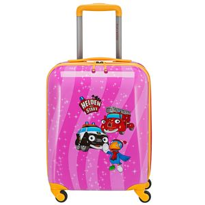 Travelite Helden der Stadt Kindertrolley Kinderkoffer Kindergepäck 71687, Farbe:Pink