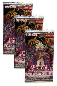 Yu-Gi-Oh! Legendary Duelists 'Rage of Ra' Booster Pack deutsch 1. Auflage, Menge:3 Stück