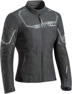 Ixon Challenge Damen Motorrad Textiljacke Farbe: Schwarz, Grösse: M