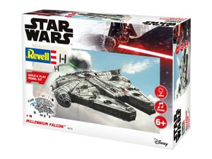Revell Revell Star Wars Modellbausatz Millennium Falke Build & Play REV06778