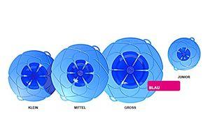 Kochblume Überkochschutz JUNIOR D22cm blau