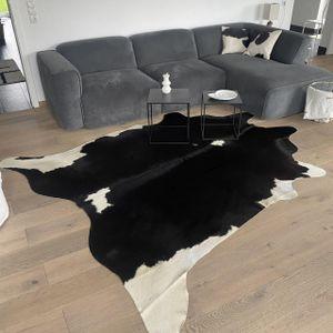 Kuhfell Nr. 127 Schwarz/Weiß