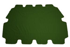 Ersatzdach für Hollywoodschaukel, wasserdicht PVC beschichtet - grün