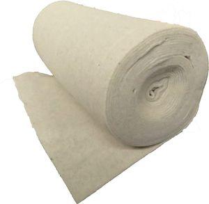 Nadelfilz aus 100% Schafschurwolle 120g/m², 1,00 m breit 2,5 m lang, ca. 2 mm dick, 2,5m²