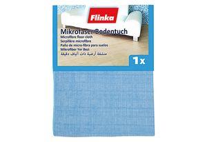 FLINKA Bodentuch Microfaser 50x55cm blau 1er Packung