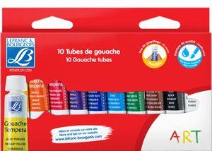 LEFRANC & BOURGEOIS Gouachefarbe 10 x 10 ml Etui
