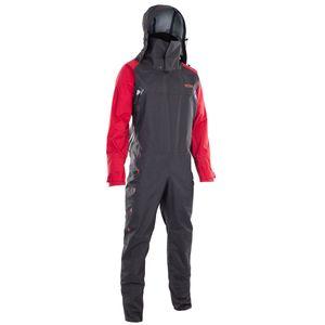 ION Trockenanzug Fuse Lightweight Drysuit dark olive/red/black 50/M