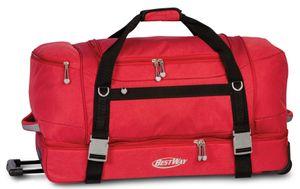 Bestway reisetasche mit Rollen 105 Liter 75 cm Polyester rot