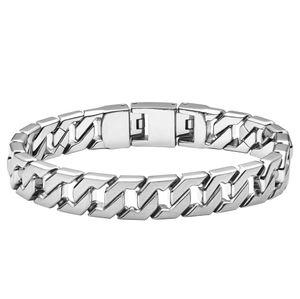 Fossil Herren Armband JF02690040 Chain Link, Edelstahl