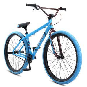 SE Bikes Big Flyer 29 Zoll Stunt Bike Fahrrad Singlespeed Wheelie Bike 29', Farbe:SE blue, Rahmengröße:43 cm