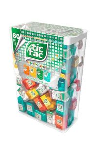 Tic TAC Dragees Lilliput Mix Mini Boxen 60 Stück